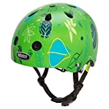 Nutcase - Baby Nutty Street Bike Helmet, Fits Your Head, Suits Your Soul - Go Green Go