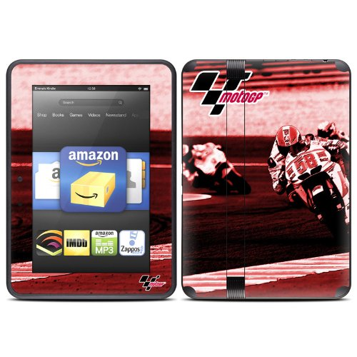 Throttle Design Protective Decal Skin Sticker (High Gloss Coating) for Amazon Kindle Fire HD 7 inch (released Fall 2012) eBook Reader