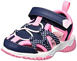 Vida Shoes International Carter's Baby Zyntec Boy's & Girl's Athletic Sport Sandal, Navy, 6 M Us Toddler