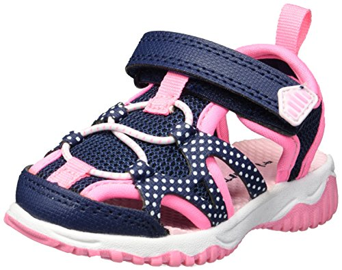Picture of Carter's Unisex-Kids Zyntec Boy's and Girl's Athletic Sport Sandal, Navy, 11 M US Little Kid