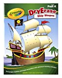 Crayola Dry Erase Learning Activity Workbook Ship Shapes