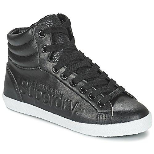 Superdry Seek Baskets Black Logo Hi Super x6wYEqr6