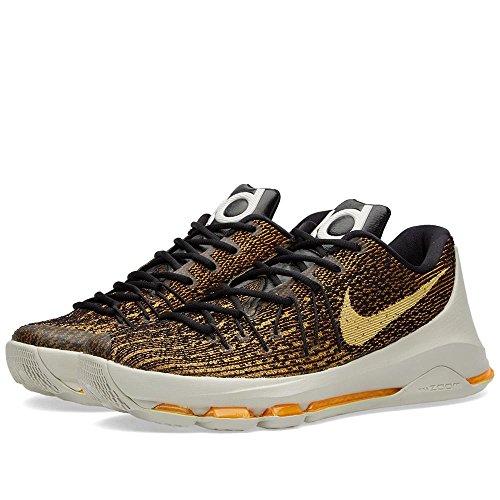 959f34f7d087 Galleon - Nike Mens KD VIII Basketball Shoes Black Orange