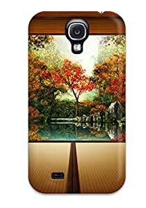 New Premium SwQjpeU6859lhcSm Case Cover For Galaxy S4/ Japansese Garden Protective Case Cover