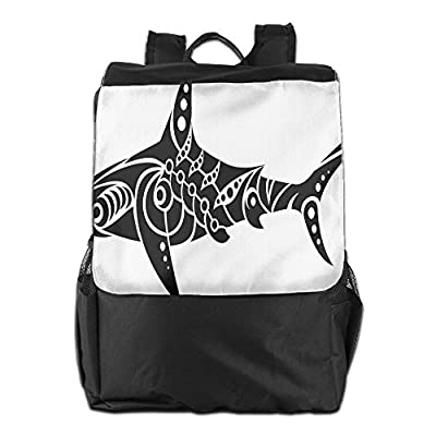 3ca0423afc outlet Newfood Ss Shark Tattoo Design In Black And White Under The Sea  Wildlife Theme Fish