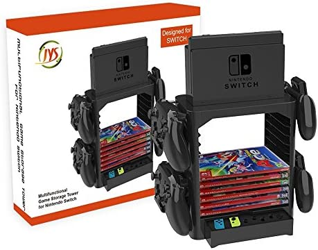 Goodgo Nintendo Switch Multi Function Storage Bracket Tower Holder Stand Shelf For Switch Game Disc Card Switch Console Host Switch Controller Switch Accessories Amazon Com Au Video Games