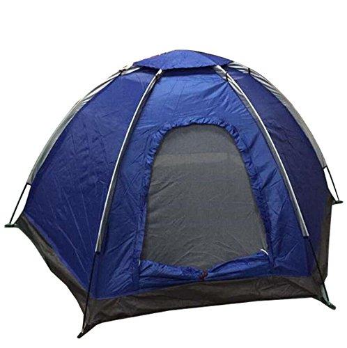 ZC&J 3-4  Herrenchen wilde Camping Sonnenschutz sonnige Zelte, Glasfaser-Klammer, starke und langlebige Anti-Sturm, tragbare Zelte