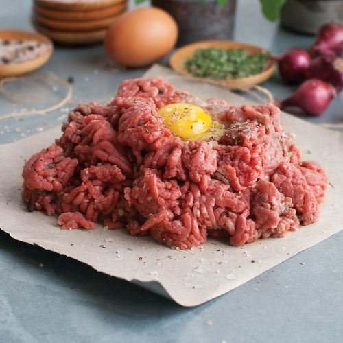- Omaha Steaks 4 (1 lb. pkgs.) Premium Ground Beef