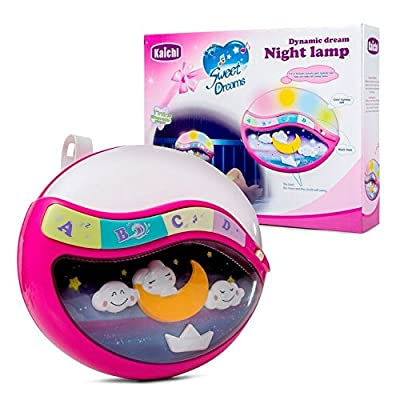Play Baby Toys Magic Sleep Through The Night Soother Baby Crib Clip In Night Lamp with multiple melodies.