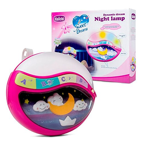 Play Baby Toys Magic Sleep Through The Night Soother Baby Crib Clip In Night Lamp With Multiple Melodies To Put Your Baby To Sleep, In Pink - Melody Night Light