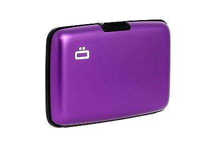Ögon ST-Purple Stockholm Cartera Tarjetero de Aluminio Anodizado Morado