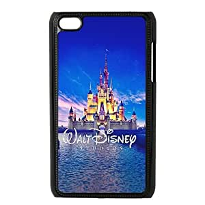 iPod Touch 4 Case Black Walt Disney Studios Castle Illust SLI_668679