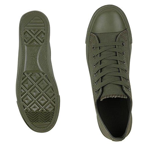 Best-botas para mujer zapatilla zapatillas zapatos de cordones estilo deportivo Grün Nuovo