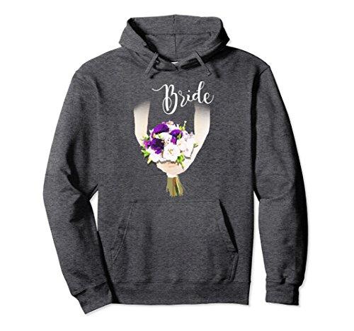 orette party and Bridal shower Gift Hoodie XL: Dark Heather (Bridal Shower Sweatshirts)