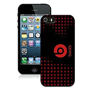 New DIY Custom Design Cover Case For iPhone 5S Generation Beats by dr dre 18 Black Phone Case