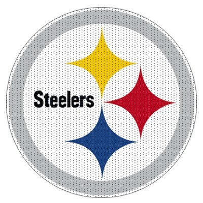 NFL Pittsburgh Steelers 12 inch Unobstructed View Car Window Film from FD
