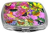 Rikki Knight Compact Mirror, Butterflies