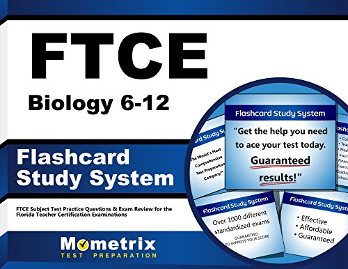 FTCE Biology 6-12 Flashcard Study System: FTCE Test Practice Questions & Exam Review for the Florida Teacher Certification Examinations (Cards)