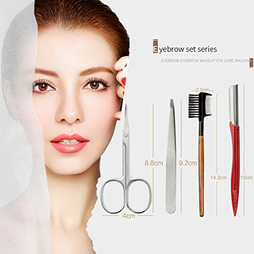 Eyebrow Tweezers Eyebrows Scissors Grooming product image