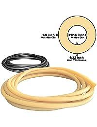 1   8in OD 1   16in ID Micro Tubo de goma de látex UNA PIEZA CONTINUA (seleccione color y longitud)