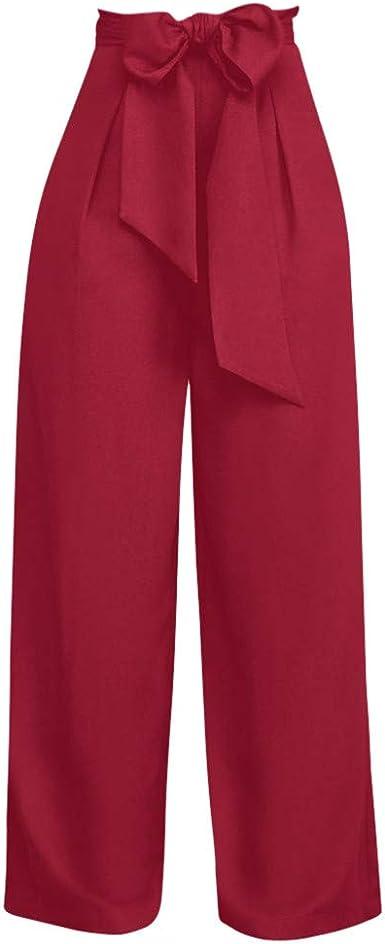 Frauit Pantalon Ancho Para Mujer Pantalon De Cintura Alta Suelte Suelto Pantalon Alto Ayuda Pantalones Rectos Y Correas Moda Diseno Elegante Streetwear