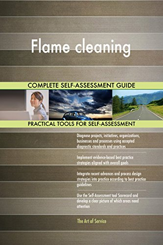 Flame cleaning Toolkit: best-practice templates, step-by-step work plans and maturity diagnostics ()