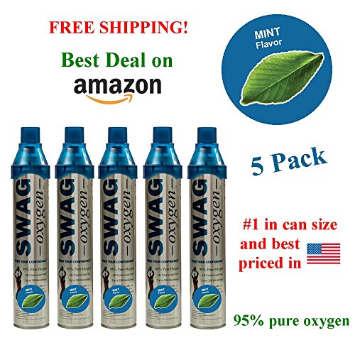 Flavored Oxygen (5 Pack) (Mint)