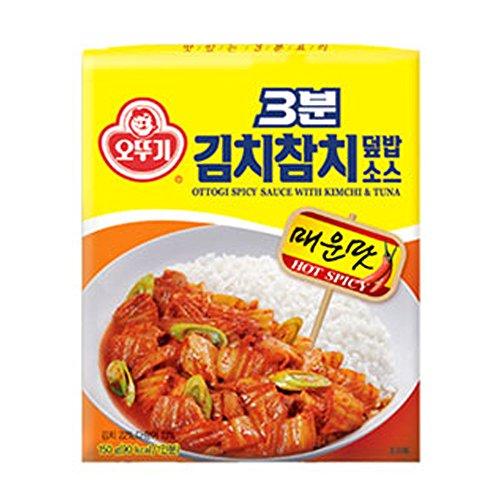 [Ottogi]3 Minute Kimchi Tuna Marinate Bundle of 4/Prepare Gourmet Dish within 3 minute/Curry/Jjajang/김치참치덮밥