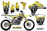 2006 suzuki rmz 450 graphics - AMR Racing Graphics Kit for MX Suzuki RMZ 450 2005-2006 REAPER YELLOW