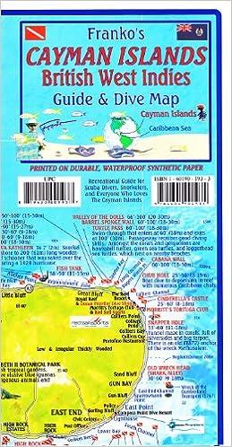Frankos Map Of The Cayman Islands Frank Nielsen - Cayman islands map