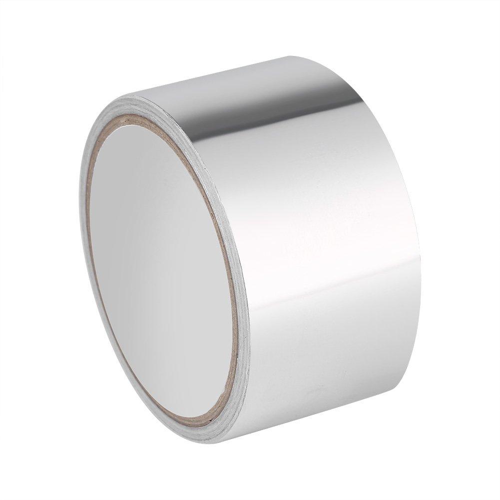 10 x 5cm Aluminium Foil Tape Premium Adhesive Sealing Heat Shield Tape for Duct Metal Repair