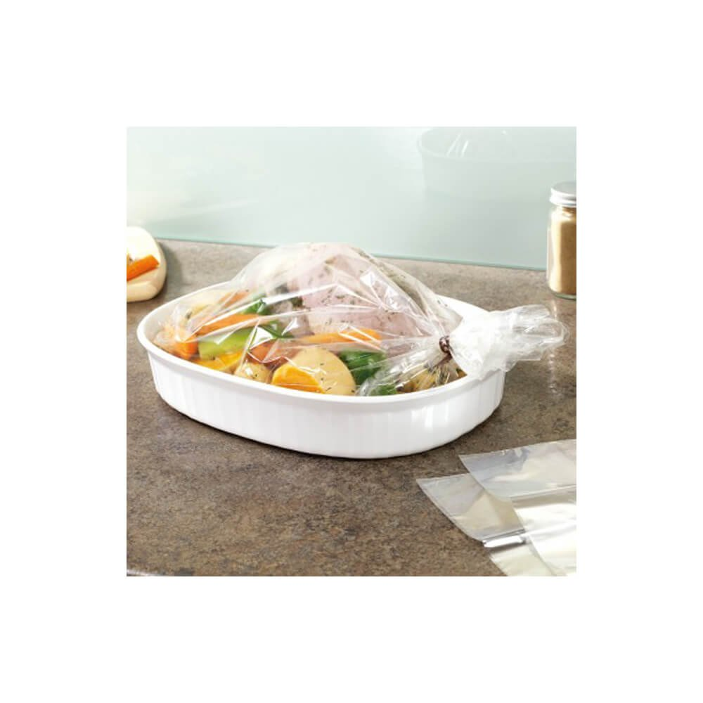 Schöne Products (UK) Bolsas para Asar (2 Unidades, Talla DE Horno y microondas. Ideal para Asar Verduras y Carne (Pack de 10)