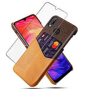 Amazon.com: Xiaomi Redmi Note 7 Leather Wallet Case with