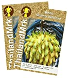 Biriba Wild Sugar Apple Rollinia deliciosa Annonaceae 5 Seeds ThailandMrk