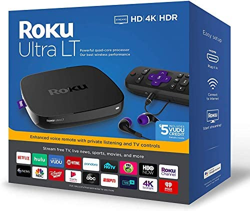 Roku Ultra LT Streaming Media Player 2019