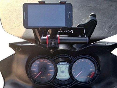 Barra Soporte para GPS Suzuki V-Strom DL650/1000: Amazon.es: Coche y moto