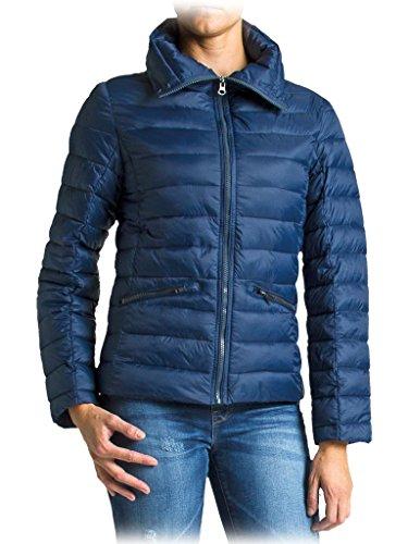 Bleu En 687 Polyamide Pour 460 Doudoune Manche Normale Rembourrage Longue Femme Jeans Taille Carrera qAZxOO
