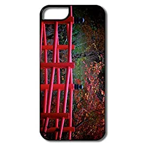 For SamSung Note 2 Case Cover Covers, Red Japanese Bridge White/black For SamSung Note 2 Case Cover