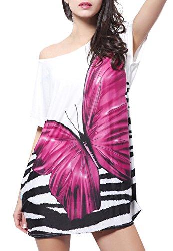 butterfly dress ladies - 5