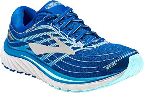 Brooks Glycerin 15, Zapatillas de Running para Mujer, Azul (Blue/Mint/Silver 1b484), 35.5 EU