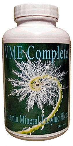 Frequency Foods VME-Vitamin, Minerals, Enzyme Complex Caps 240ct