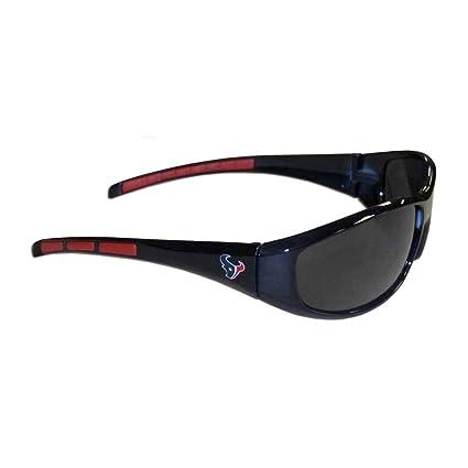 Siskiyou Gifts Co, Inc. NFL Wrap Gafas de Sol, Hombre, Houston Texans