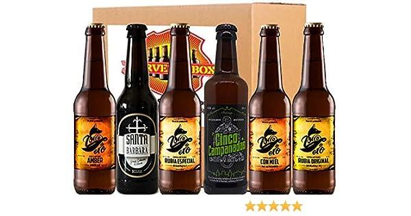 Pack Degustacion Regalo 6 Cervezas Artesanas Alicante Zorro Oro ...