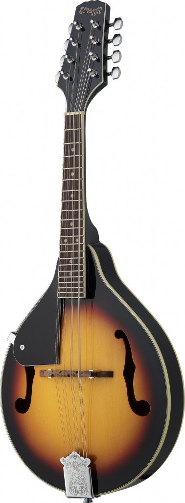 Starion ST-M20 LH VB Left Handed Bluegrass Mandolin - Violinburst