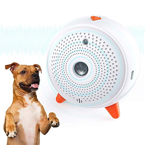 HDL Anti Barking Device for Dogs, Rechargeable Ultrasonic Stop Dog Barking Deterrent, Powerful Anti Bark Device Outdoor…