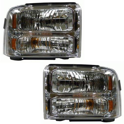 05 06 07 Ford F250 F350 F450 Super Duty Headlight (Ford F250sd Truck)