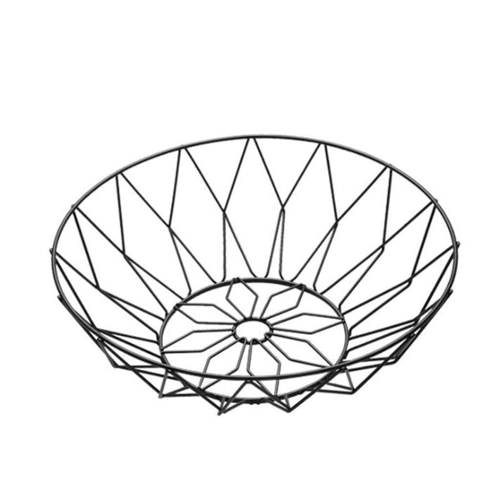 AIWO-PQ Drainage Basket Fruit Basket Creative Home Retro Multi-Function Living Room