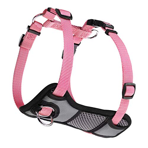 JESPET Dog Harness No Pull with Adjustable Straps for Behavior Training and Easy Walking, Dog Vest Walking Harness for Puppy and Small, Medium, Large Dogs