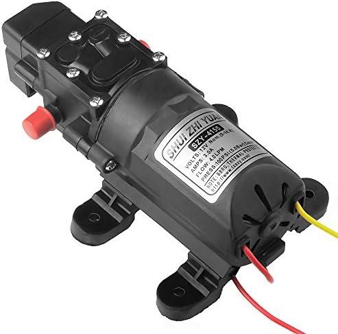 uniquegoods diafragma bomba de agua bomba de cebado automático DC ...