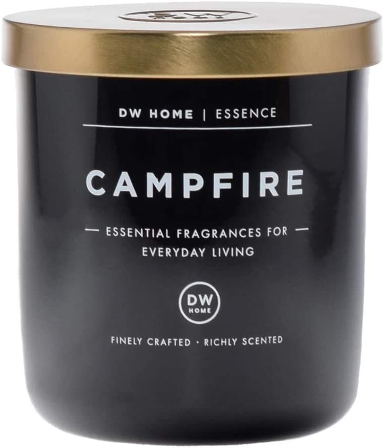 DW Home Campfire Scent Medium Single Wick Hand Poured Candle